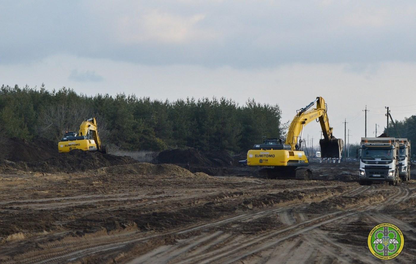 На Полтавщині відновили будівництво та ремонт великих доріг