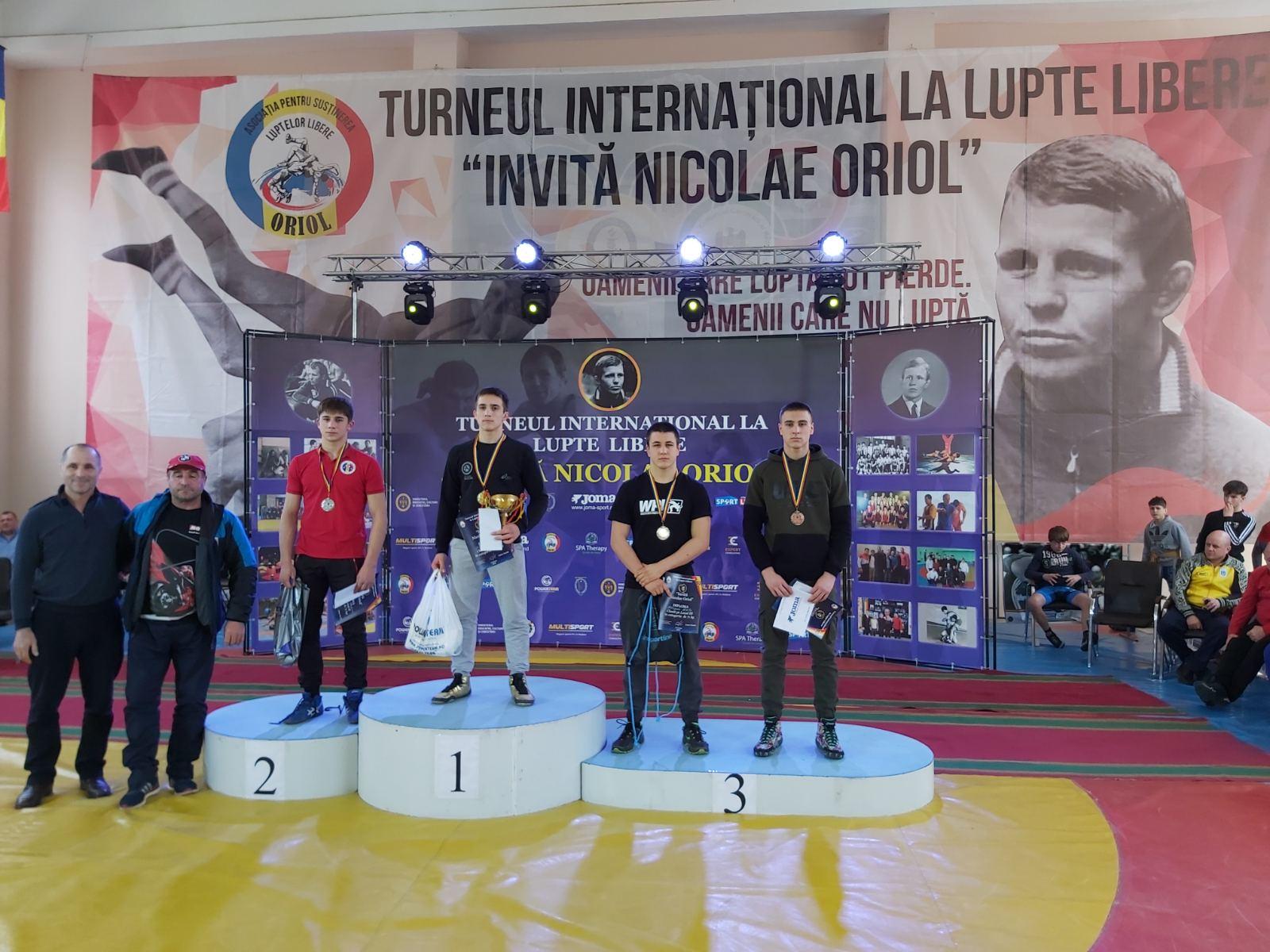 Борці з Полтави завоювали медалі на міжнародному турнірі