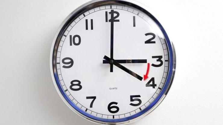 Цієї неділі полтавцям треба буде перевести годинники