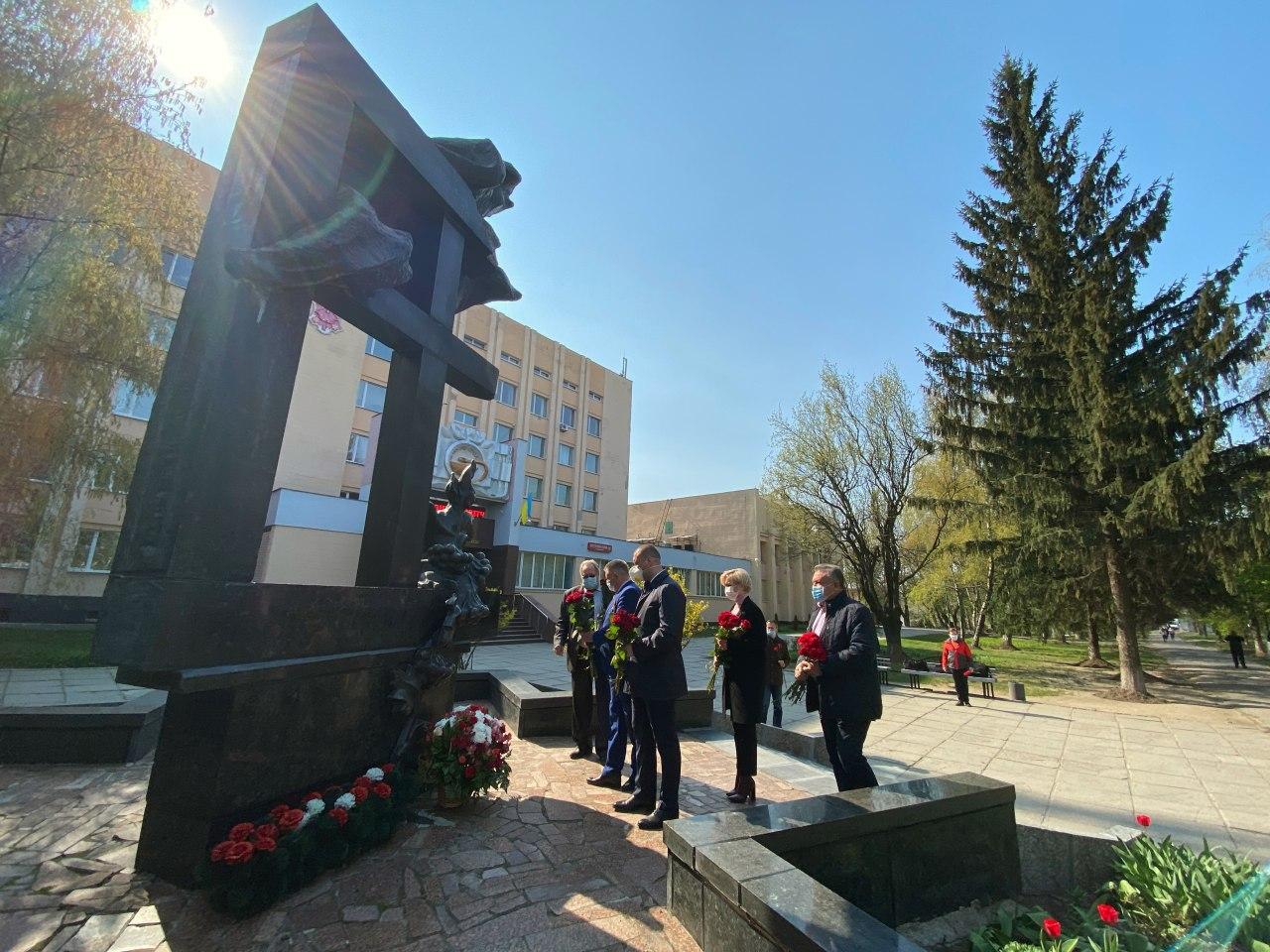 В Полтаве почтили память ликвидаторов аварии на ЧАЭС
