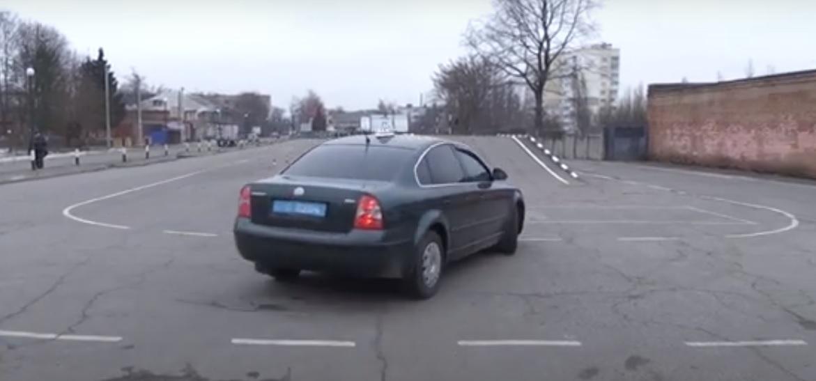 Полтавчане снова смогут сдавать практические экзамены по вождению авто