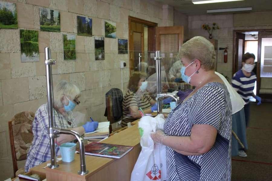 В библиотеках Полтавы работают только абонементные отделы