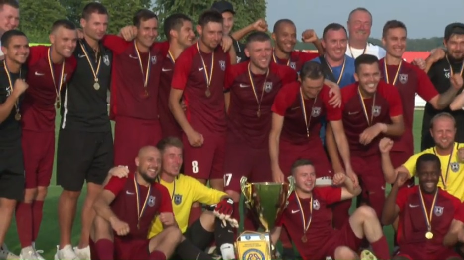 «Олимпия» с Полтавщины завоевала Кубок Украины среди любителей