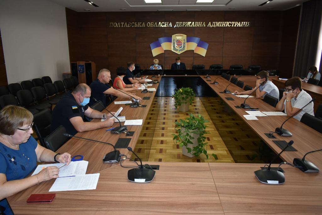 Комісія ТЕБ та НС поки що утримується від дозволу відкрити на Полтавщині оздоровчі табори