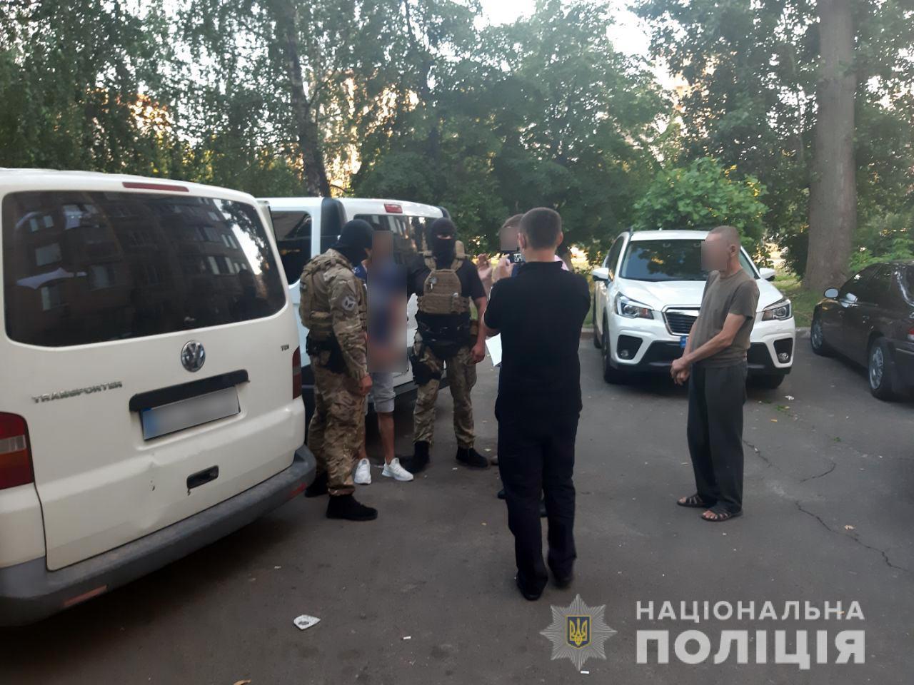 Правоохоронці встановили чотирьох осіб, яких підозрюють у нападі на авто «Укрпошти»