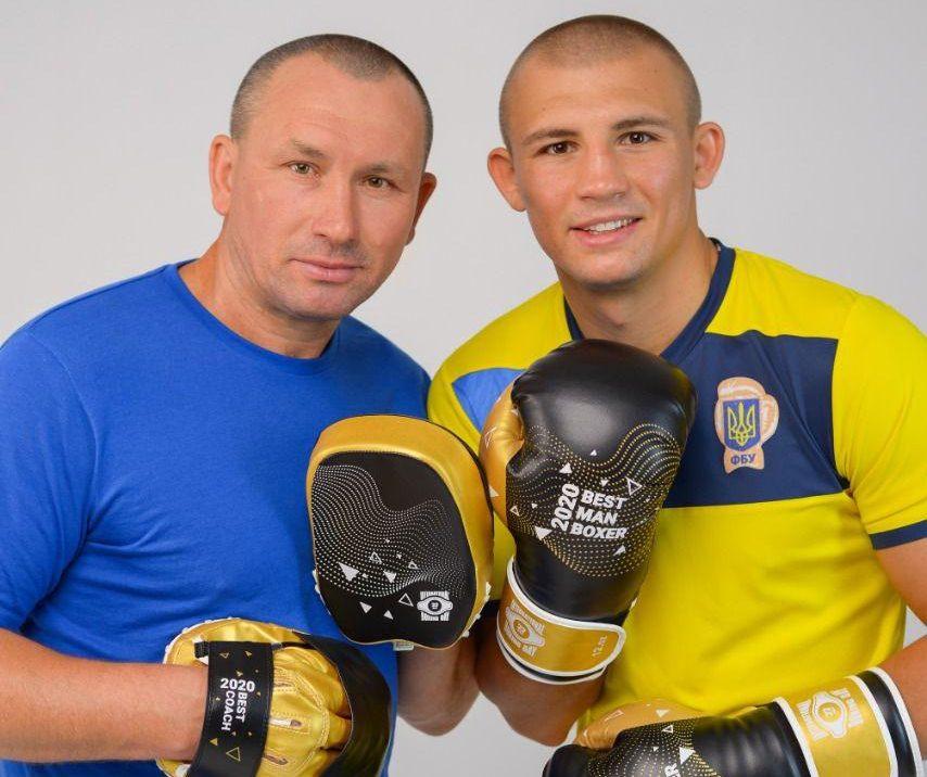 Федерация бокса Украины назвала полтавчан лучшими спортсменом и тренером
