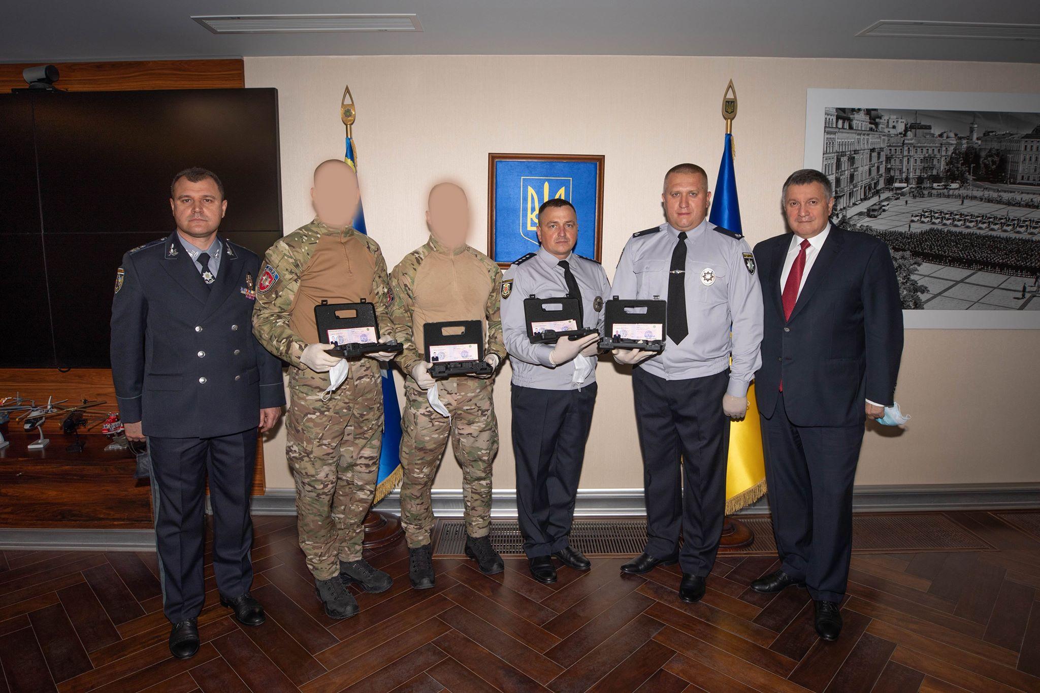 У Києві нагородили поліцейських, які знешкодили «полтавського терориста»