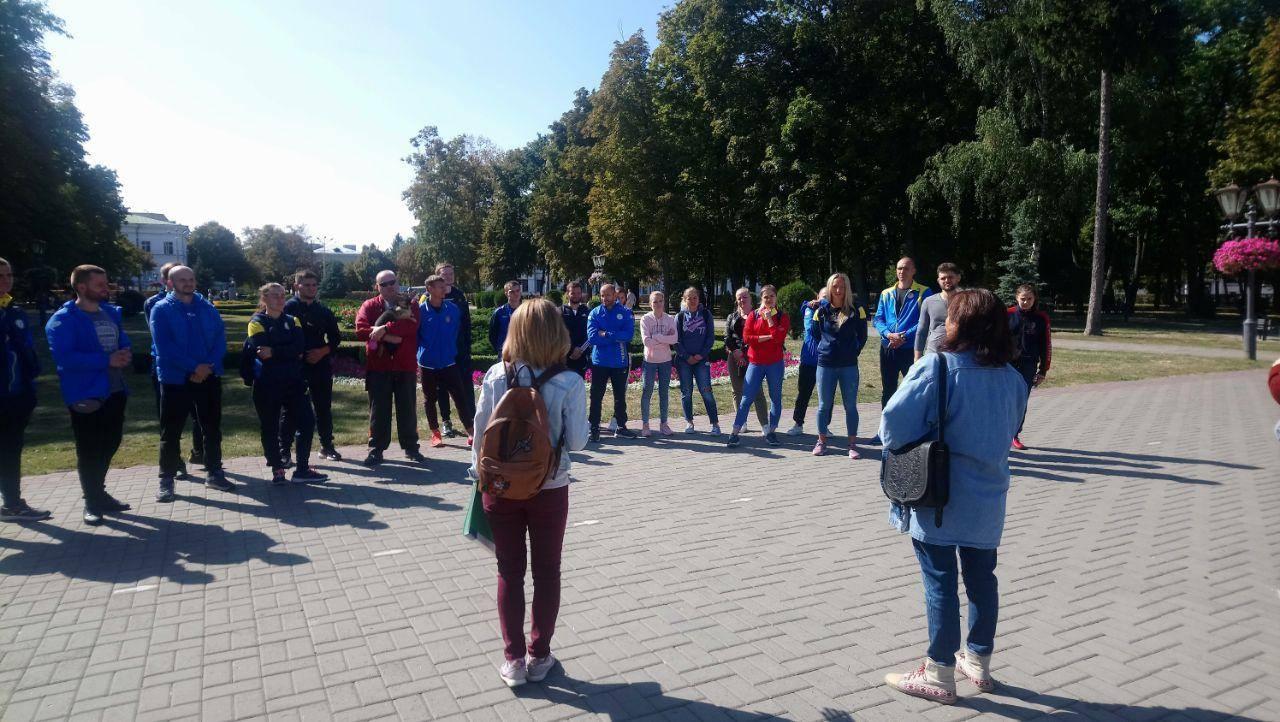 У Полтаві провели екскурсію для дефлімпійців жестовою мовою