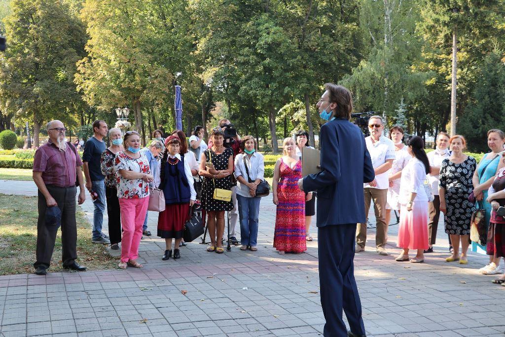 Новий екскурсійно-туристичний маршрут у Полтаві присвятили Юрієві Кондратюку
