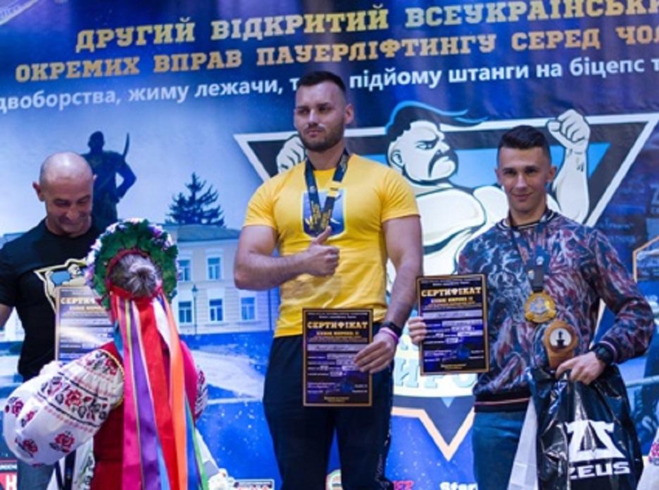 Силач із Полтавщини встановив рекорд України