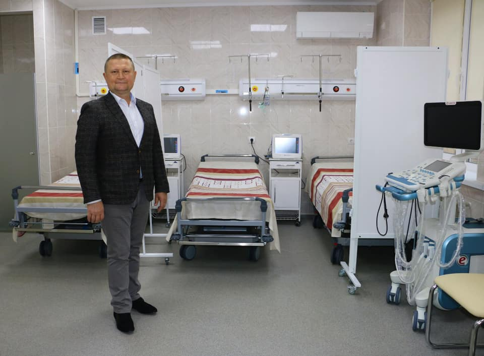 В Полтавской областной больнице появилась диагностическая палата