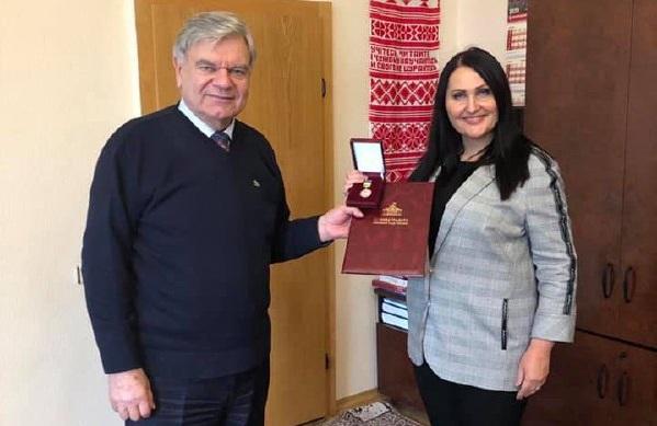 Екс-очільниця освіти Полтавщини нагороджена Почесною грамотою Верховної Ради
