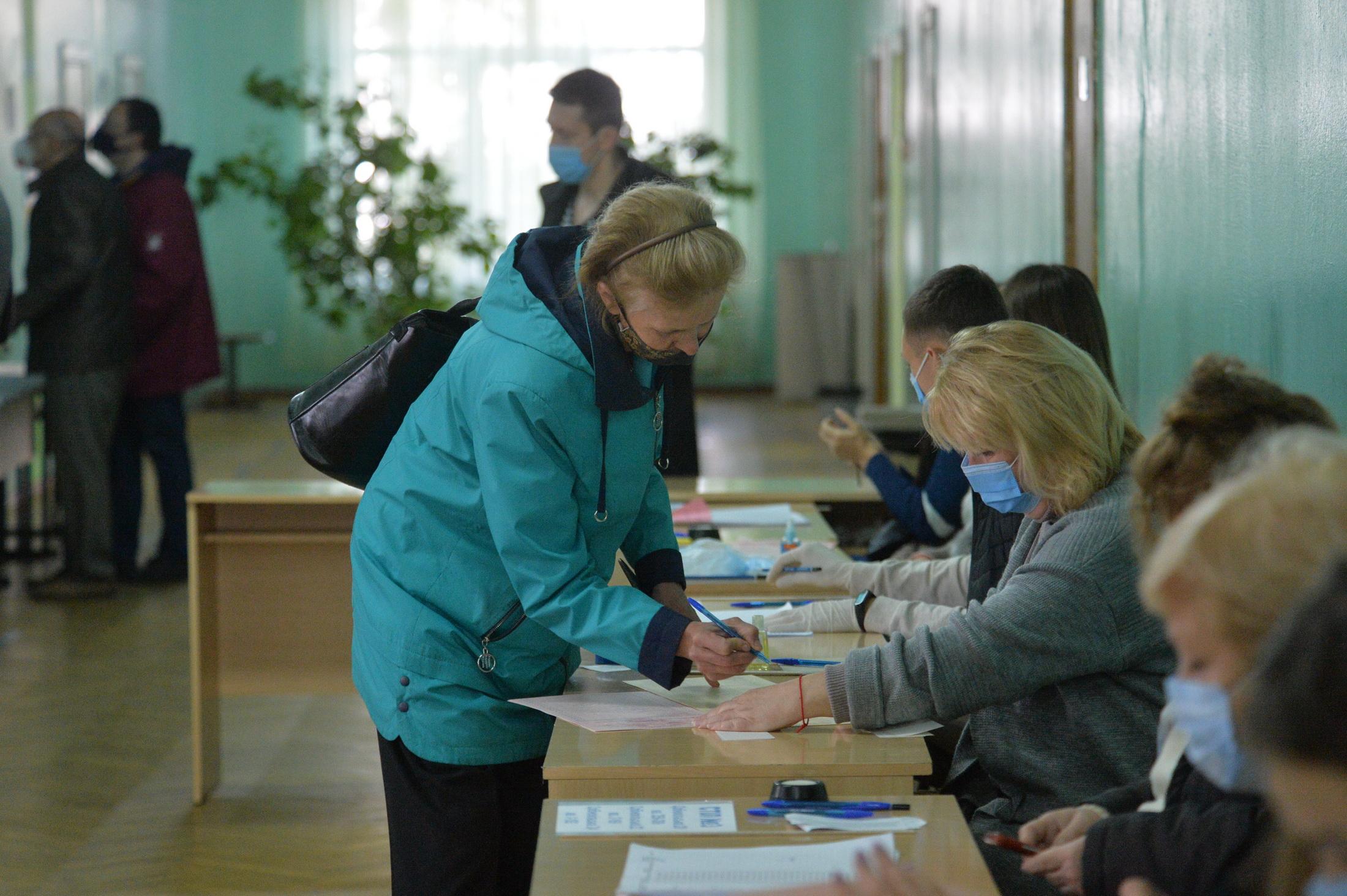 На Полтавщине шли на выборы чуть активнее, чем в целом по Украине