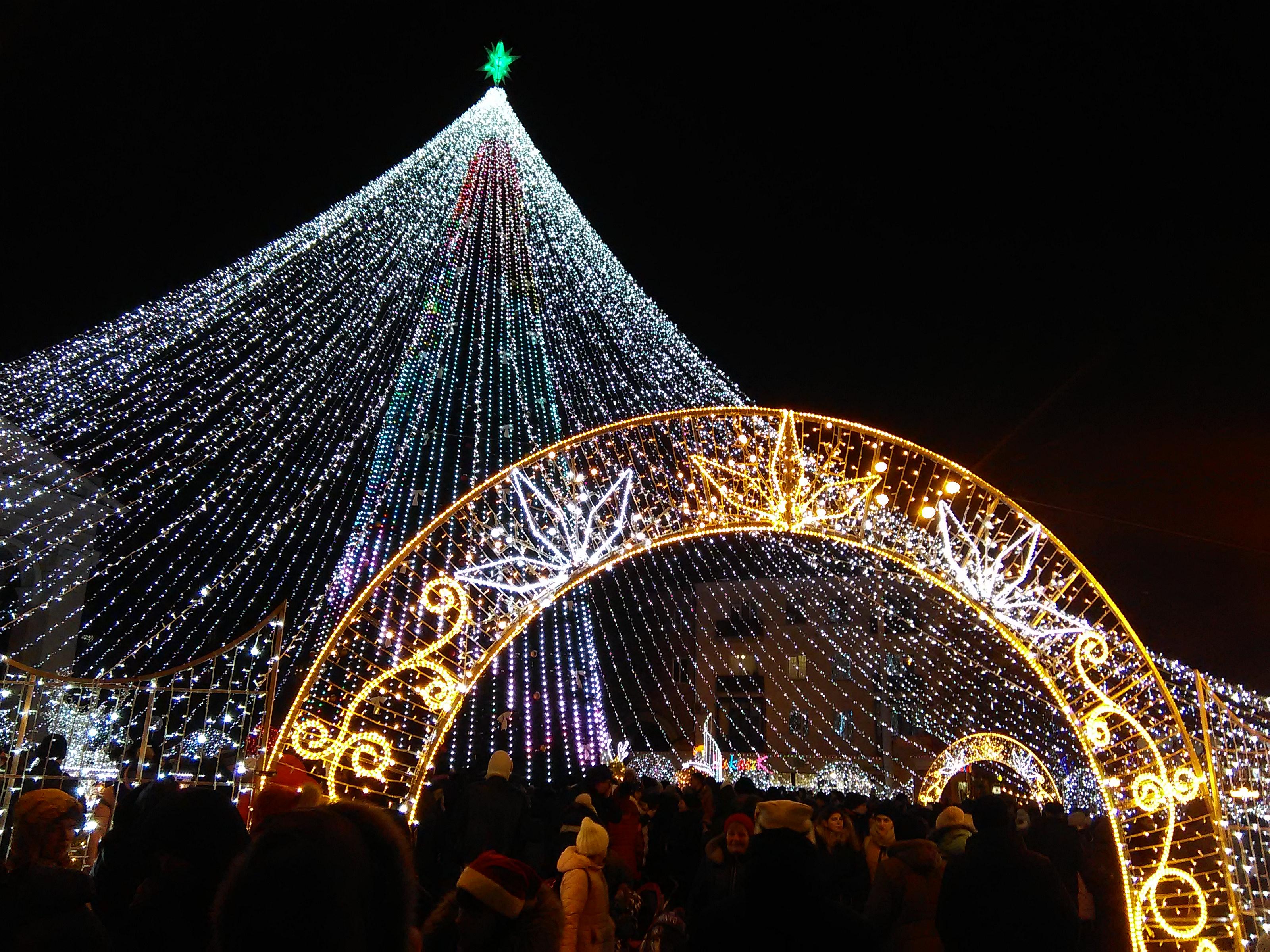 Откроют ли главную елку Полтавы на День святого Николая