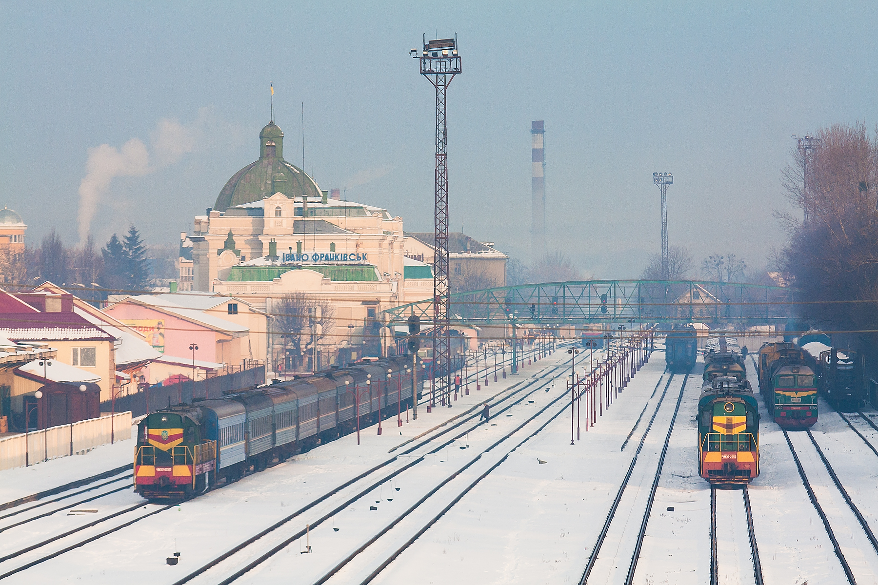 На Новый год и Рождество назначили дополнительные поезда с Полтавщины