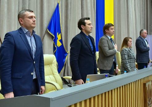 Полтавська облрада обрала керівництво й сформувала постійні комісії