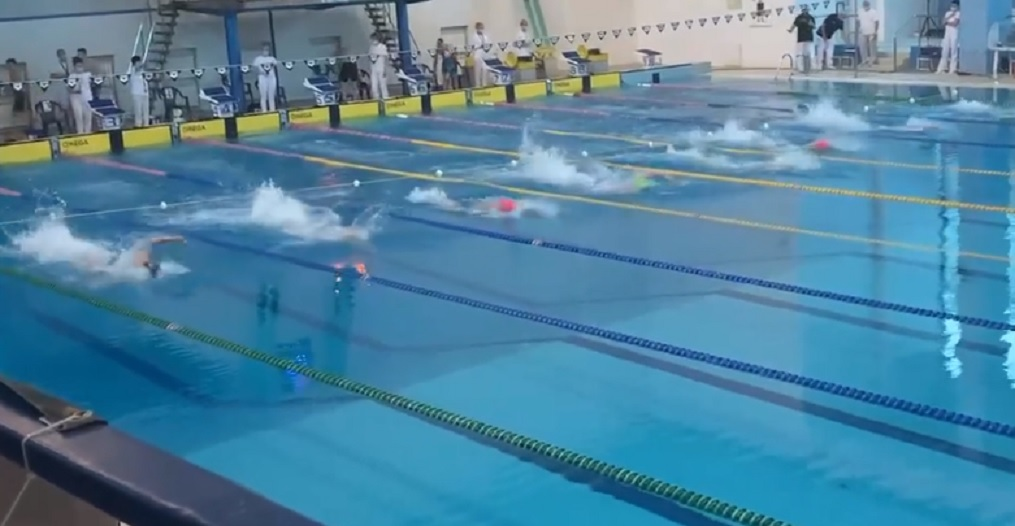 Полтавчане завоевали пять медалей на чемпионате Украины по плаванию