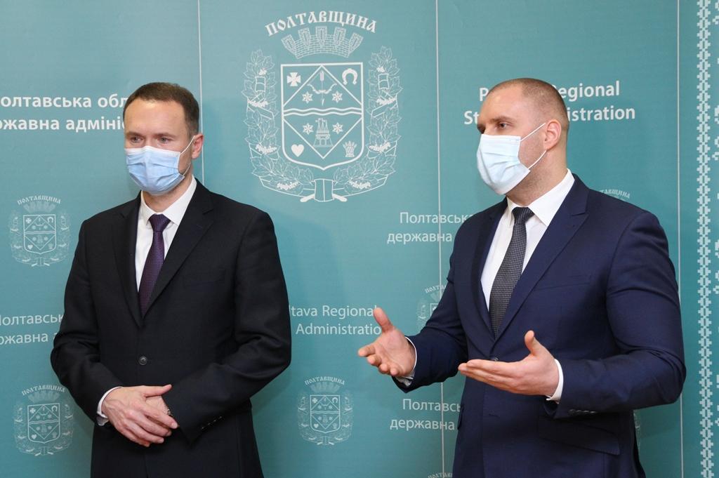 Полтаву с рабочим визитом посетил министр образования и науки Украины