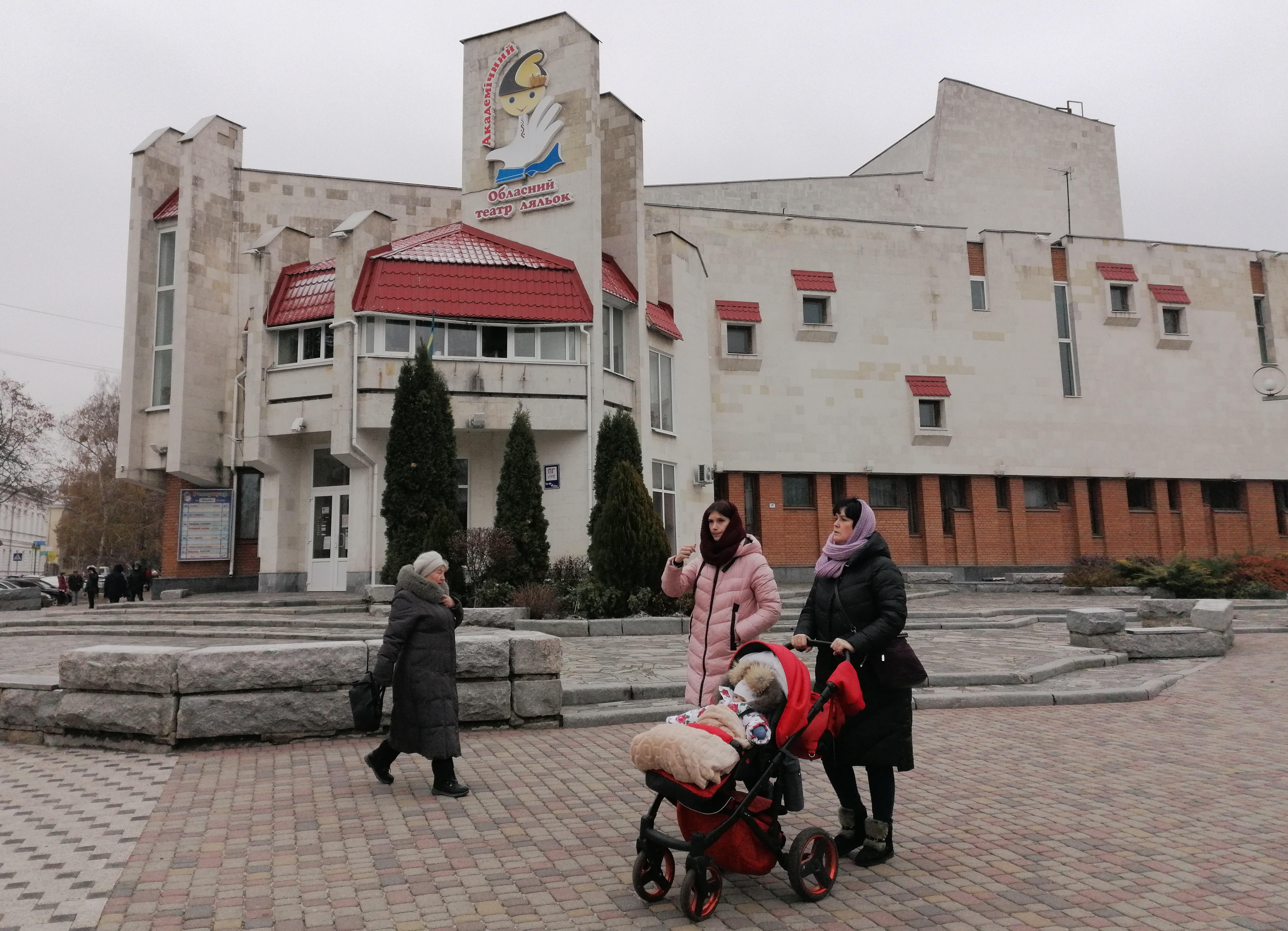 Полтавский театр кукол начинает сезон новогодних праздников