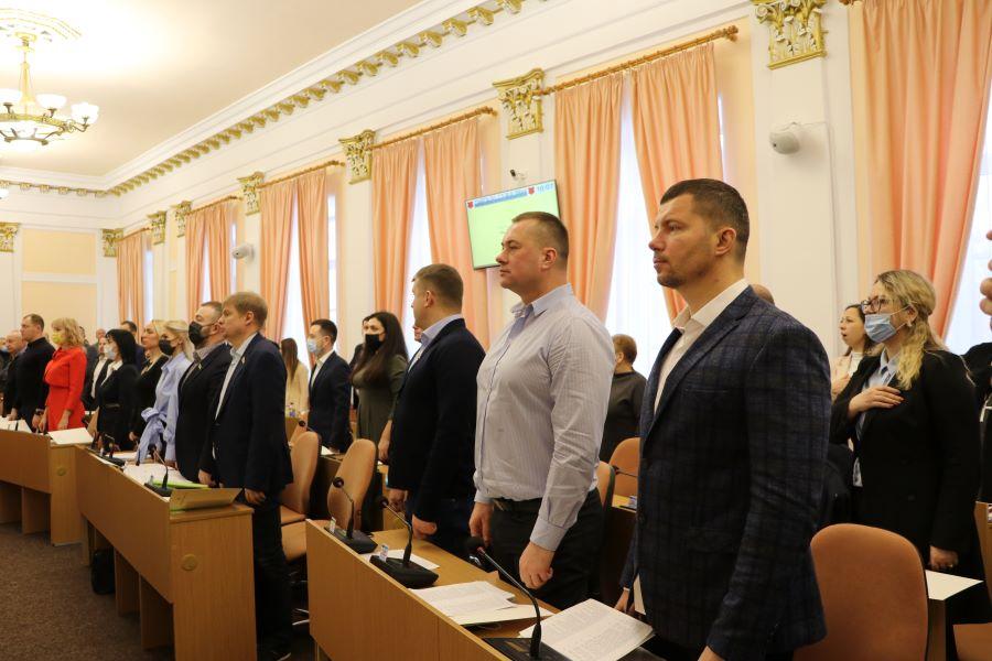 В Полтавском горсовете образовали пять постоянных комиссий