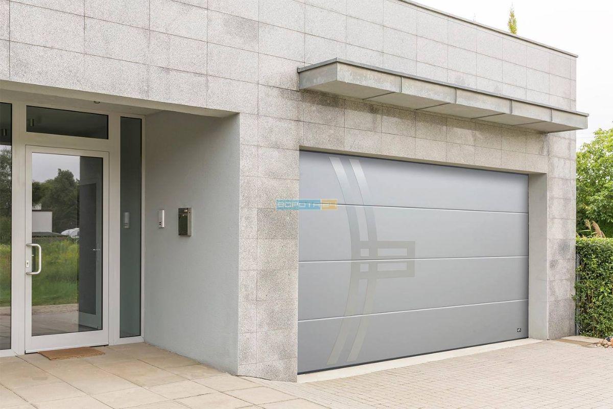 Фото алюминиевые двери - гаражные ворота - управление