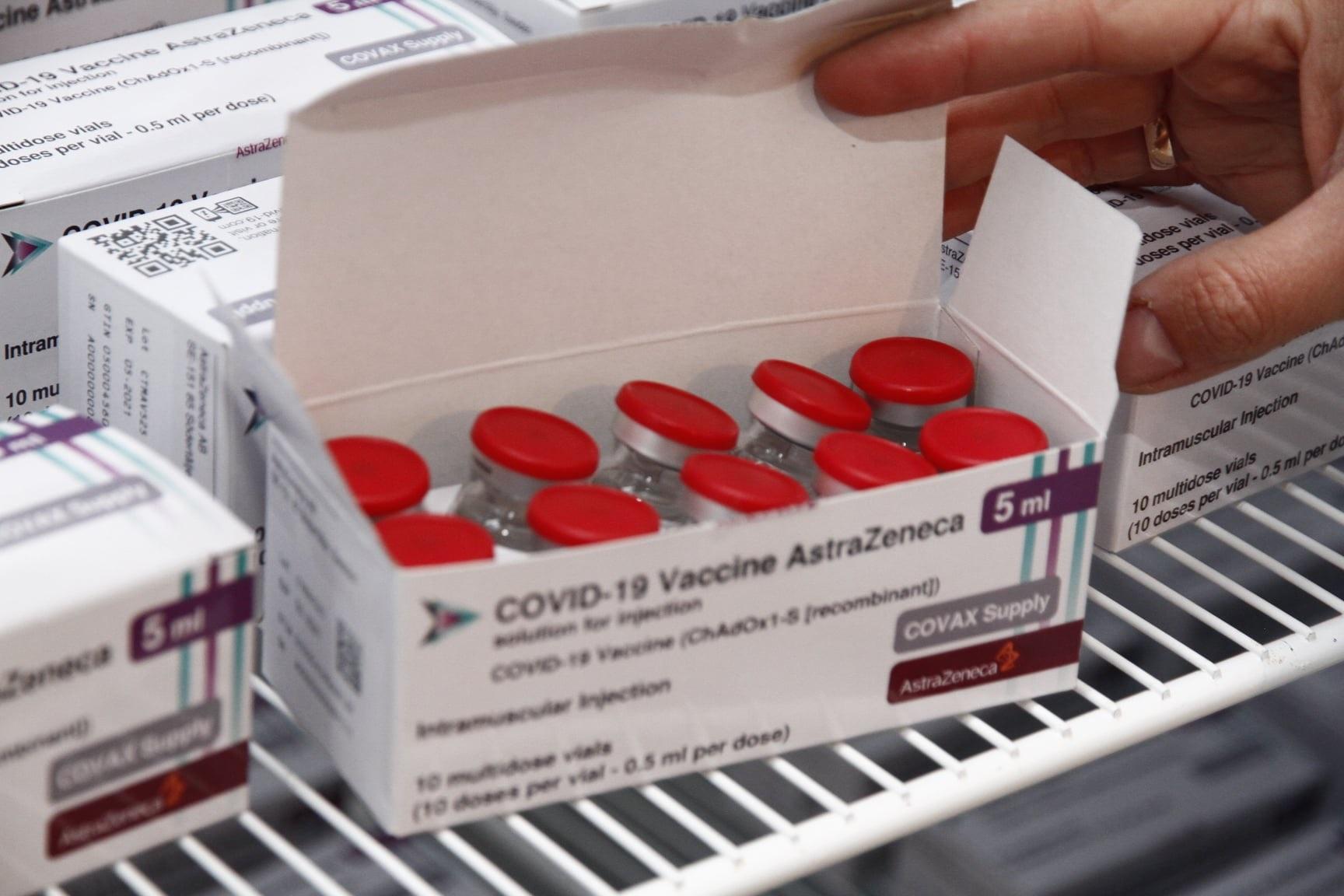 Полтавщина отримала ще одну партію вакцин AstraZeneca
