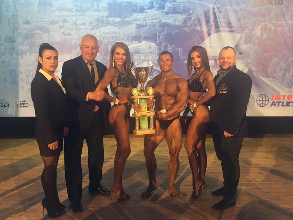 Полтавці здобули призові місця на Кубку України з бодібілдингу