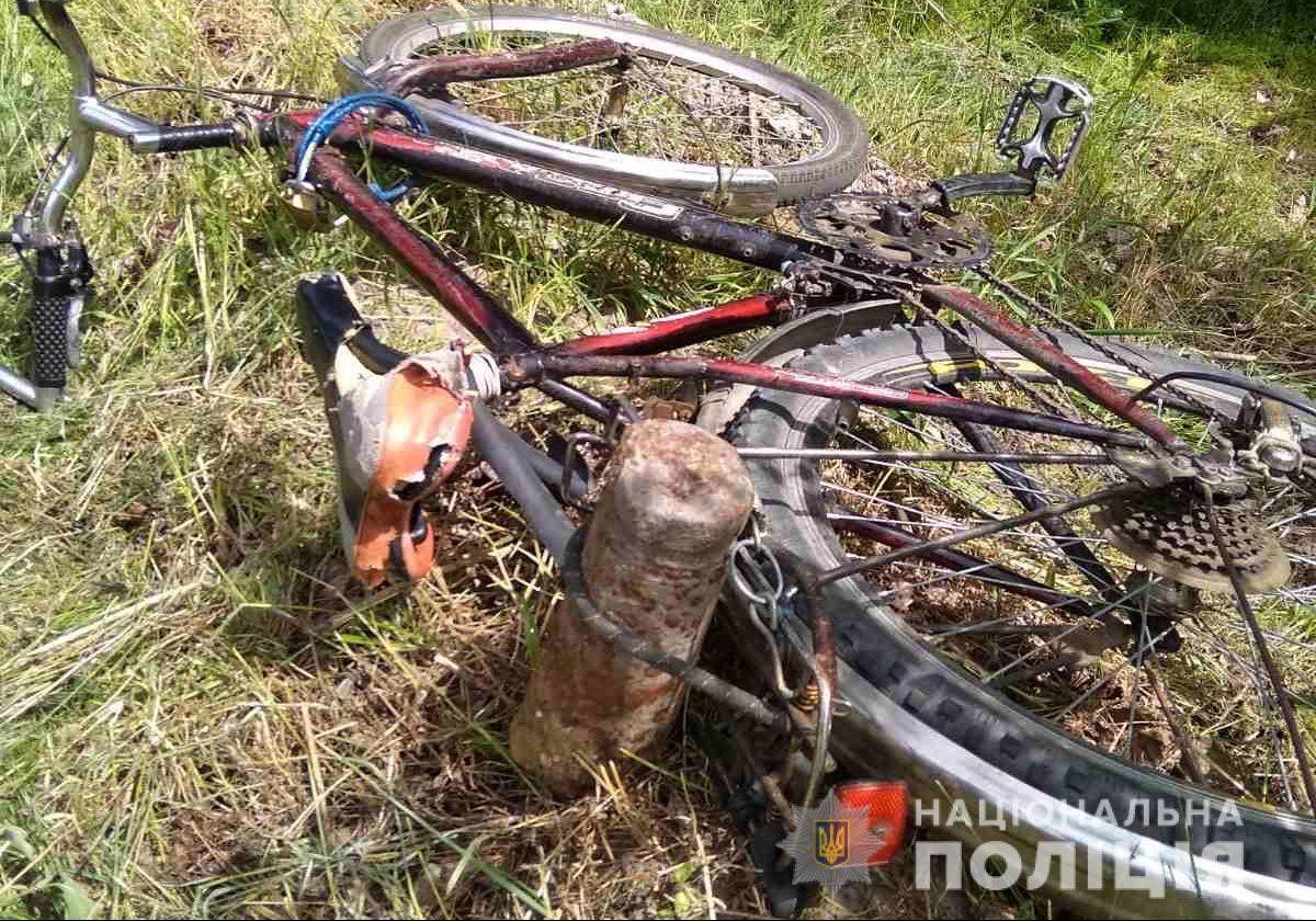 Житель Полтавской области перевозил боеприпас на велосипеде