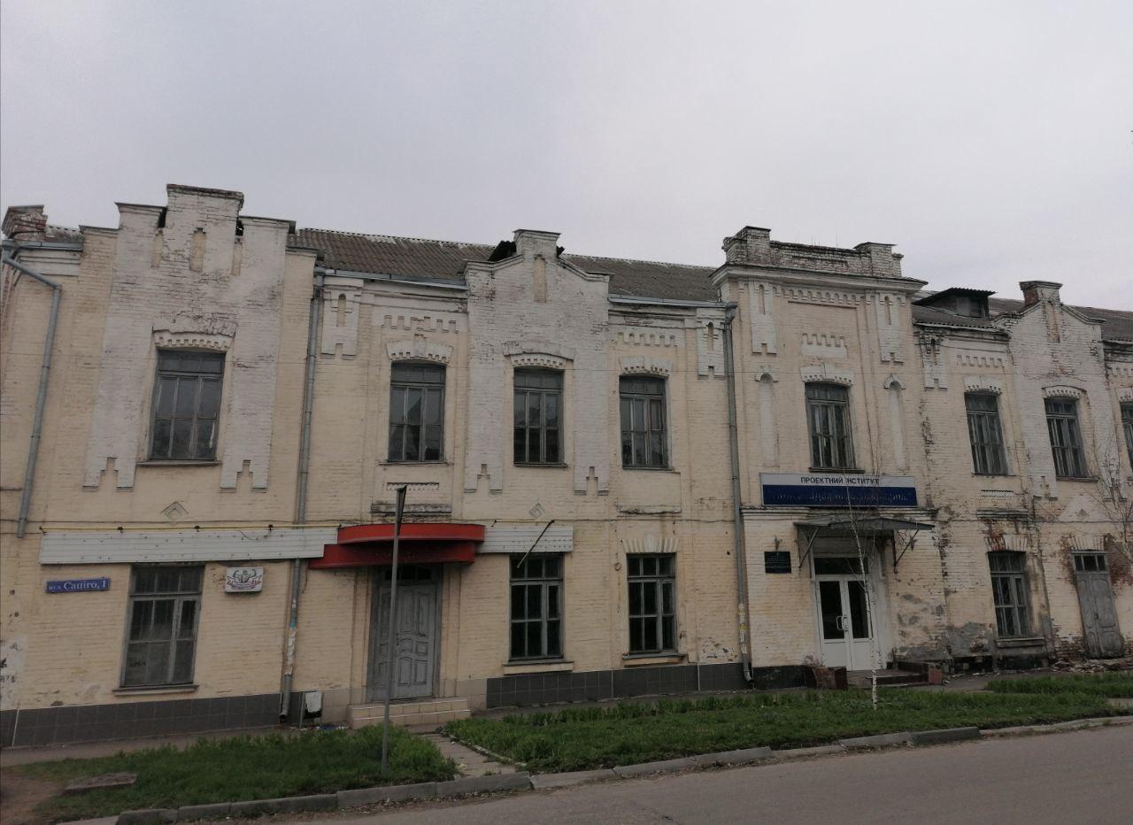 У Полтаві знову виставили на продаж будівлю молокозаводу ХІХ століття