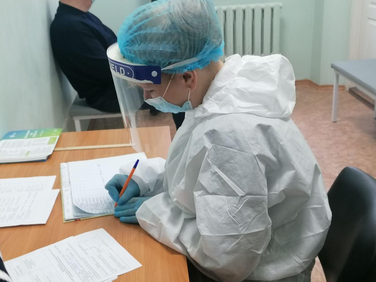 Полтавчане могут получить международное свидетельство о вакцинации