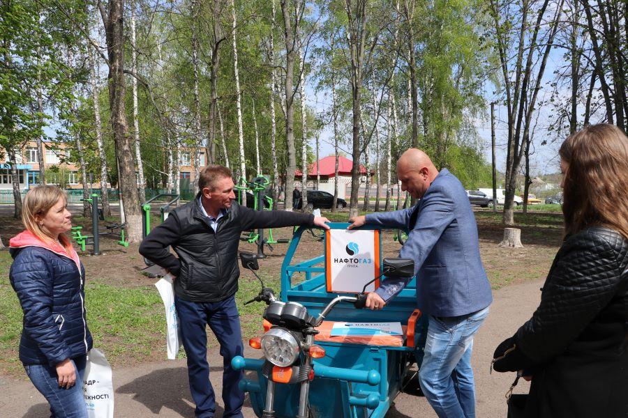 У Полтавській громаді з'явився новий спортивний майданчик