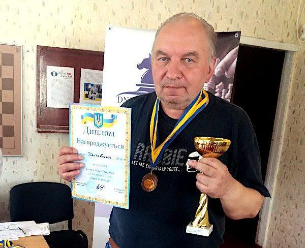 Полтавець виграв чемпіонат України з шахів