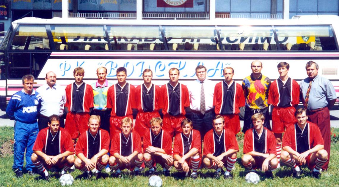Полтавська «Ворскла» вперше вийшла до Вищої ліги рівно 25 років тому
