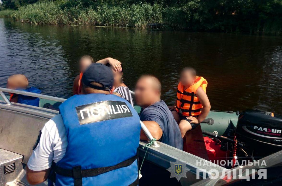 Водная полиция Кременчуга будет проверять, как соблюдаются правила на водоемах Полтавы