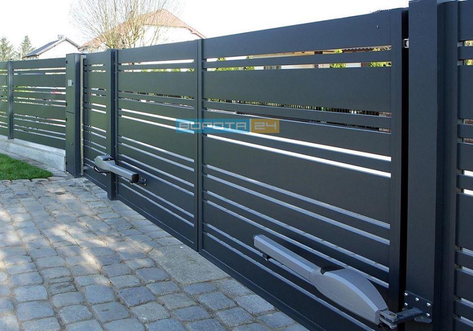 установка дистанционного управления для ворот