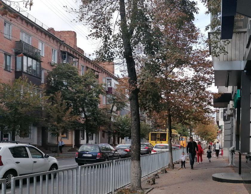 У Полтаві поруч із дитиною впала частина балкону