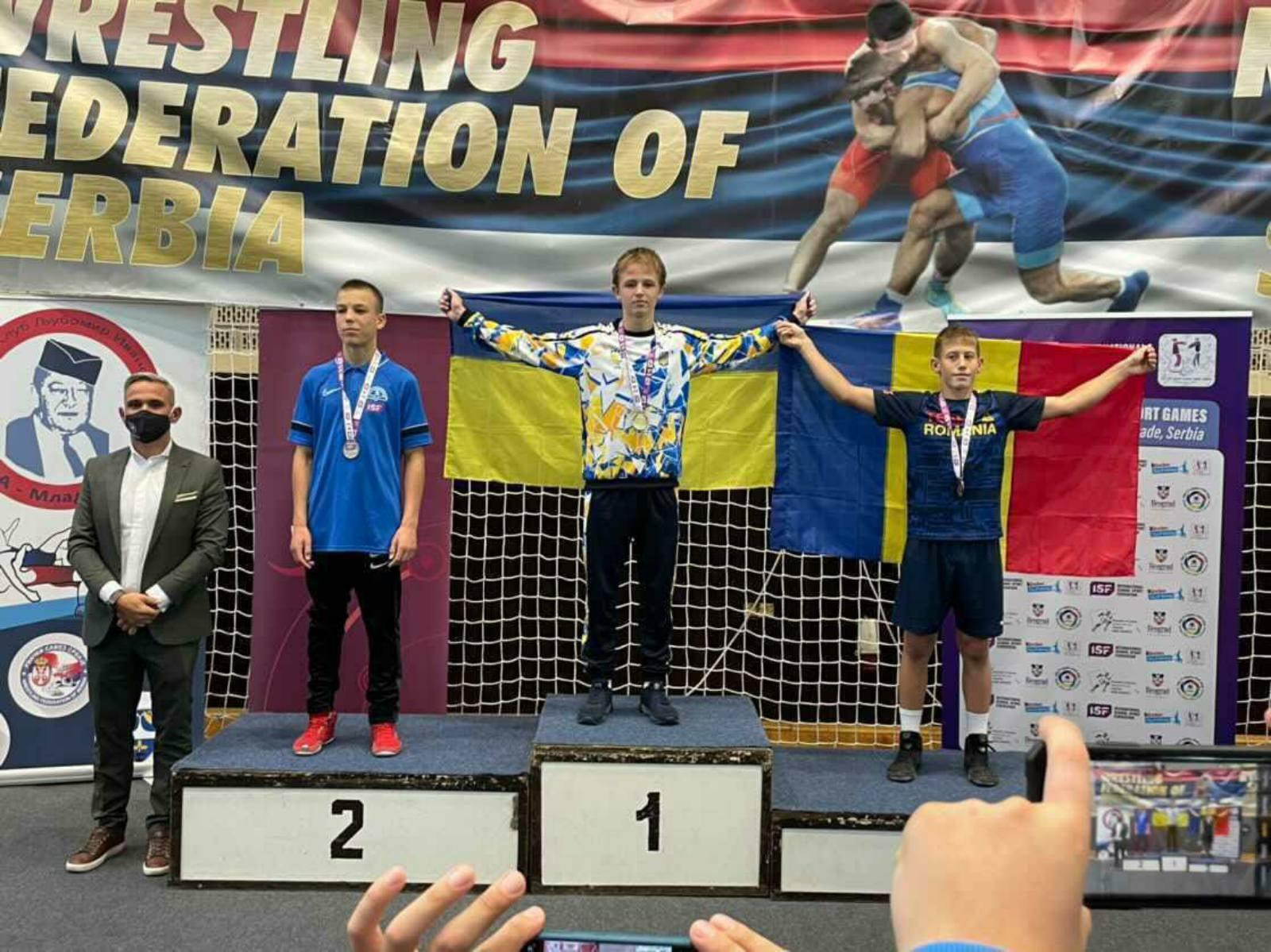 Полтавський школяр став чемпіоном світу з вільної боротьби