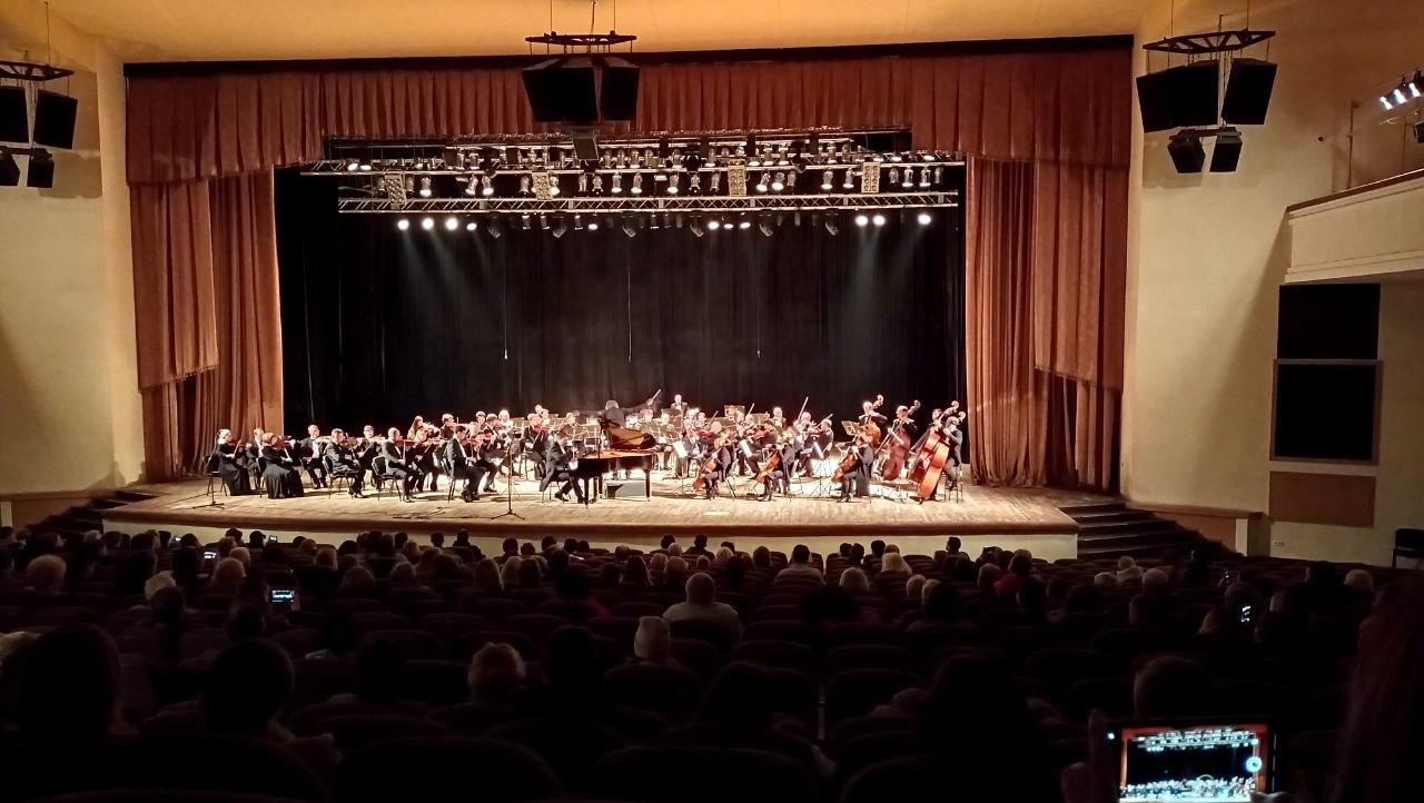 Національний симфонічний оркестр дав грандіозний концерт у Полтаві