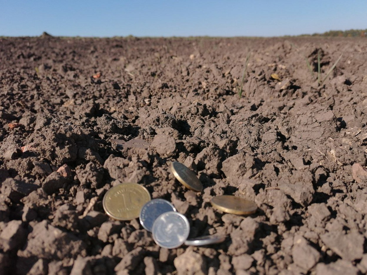 Полтавчанам советуют не продавать землю за копейки